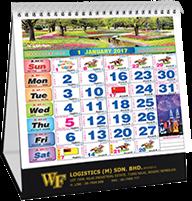 Horse Racing Wall Calendar 2020 Printing Supplier Malaysia
